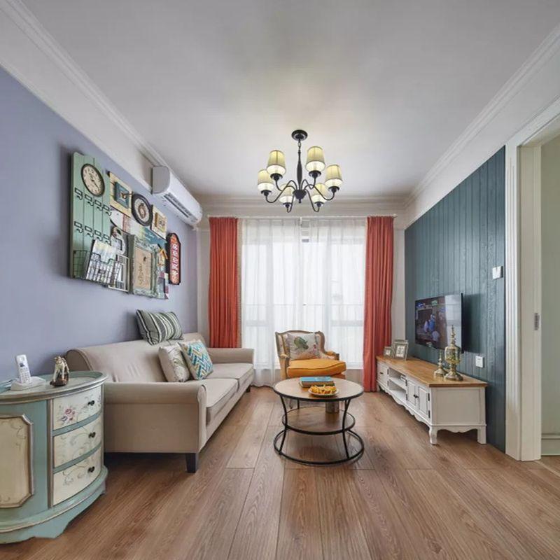 南通装修分享98平简约混搭风格两居室装修案例!(前方高能,多图预警)