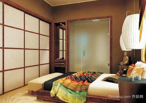 日式风格卧室特点