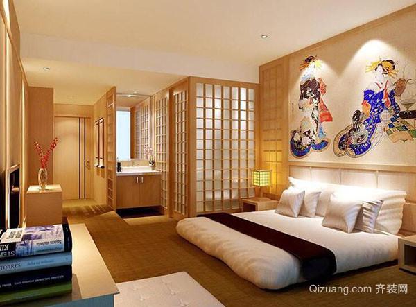 日式风格卧室设计理念说明