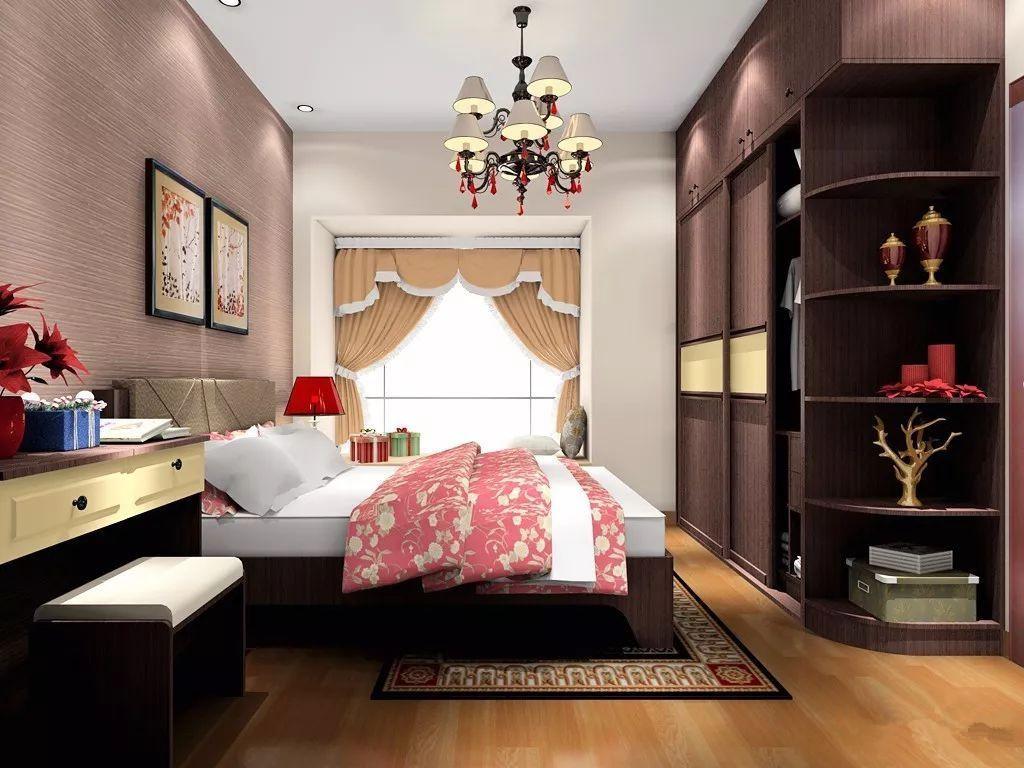 120平家装卧室装修效果图(前方高能,多图预警)