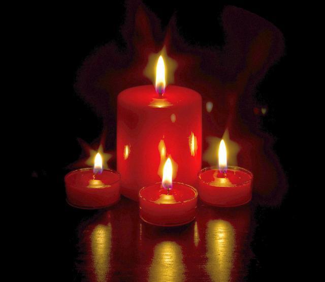 蜡烛除甲醛