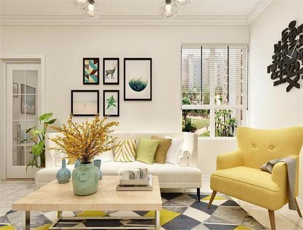 西安70平现代风小两室装修 简单而自然的生活气息