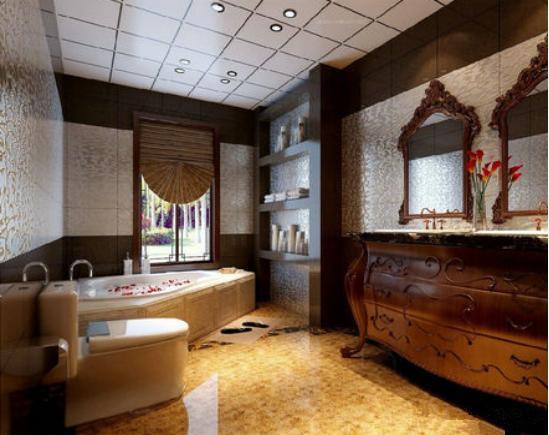 2018年最新最全的浴室装修效果图(前方高能,多图预警)