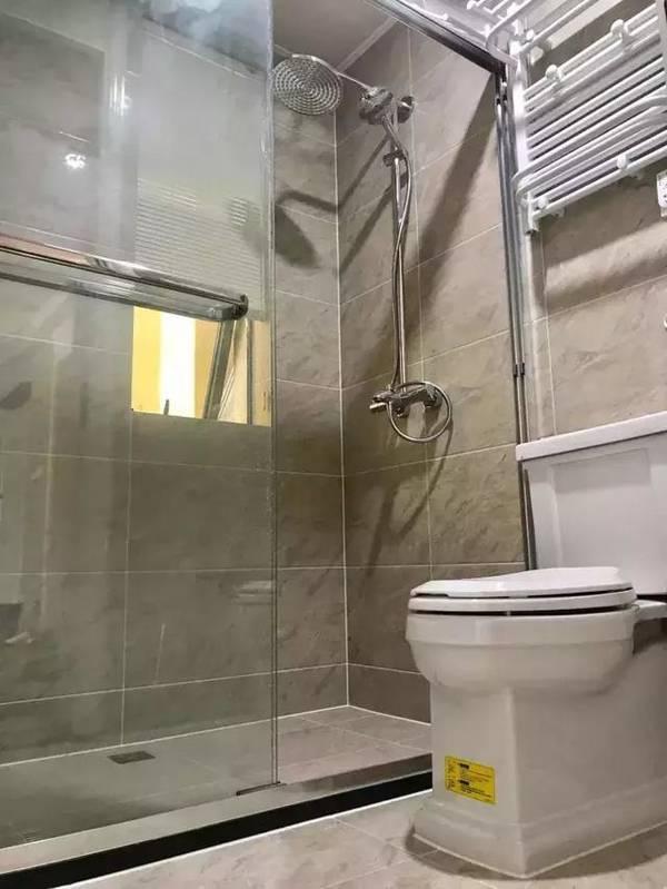 泰兴140平现代美式婚房装修案例 羡慕超大阳台