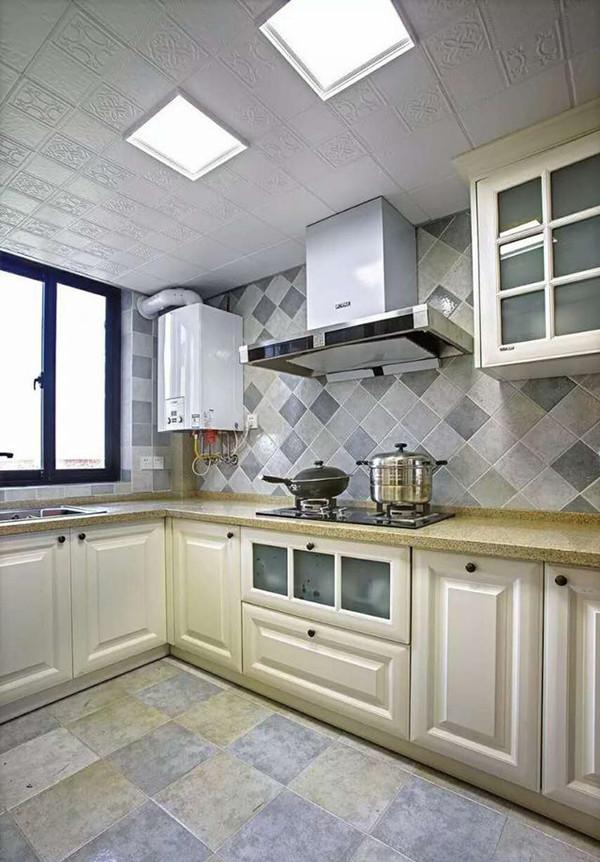 130㎡地中海风格厨房装修设计