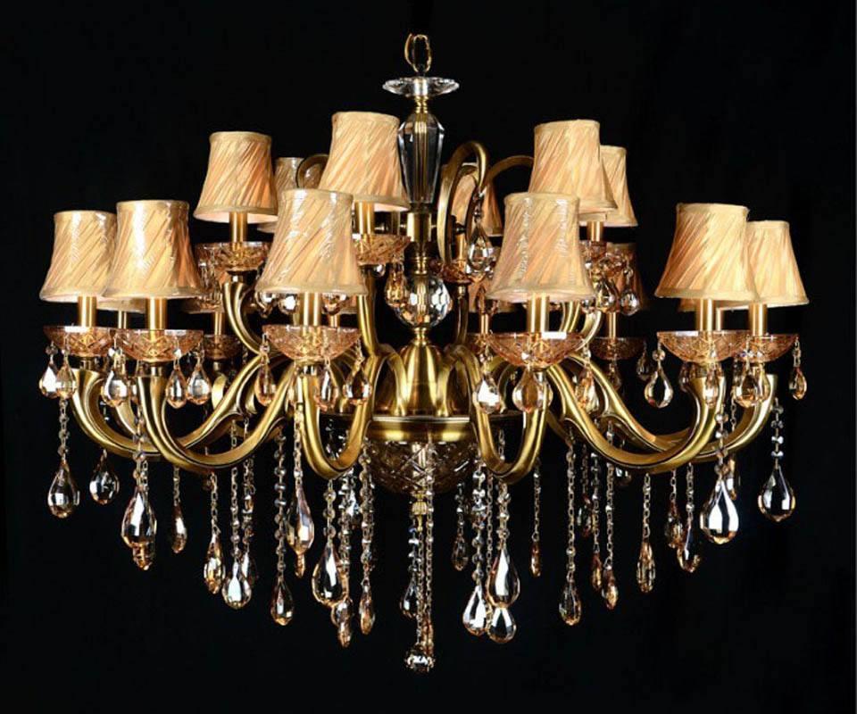 欧式水晶吊灯的安装注意事项