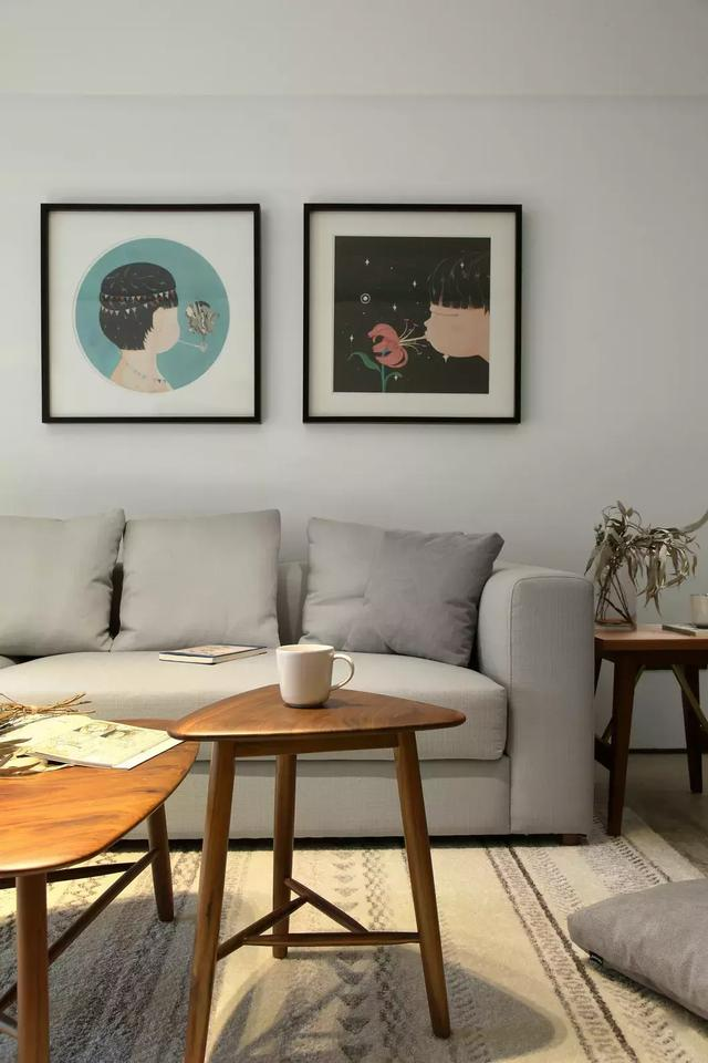 简单设计的客厅
