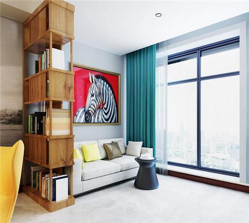 保定一室一厅装修效果图,面积很小但却是舒适温馨感