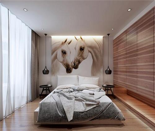 一室一厅卧室