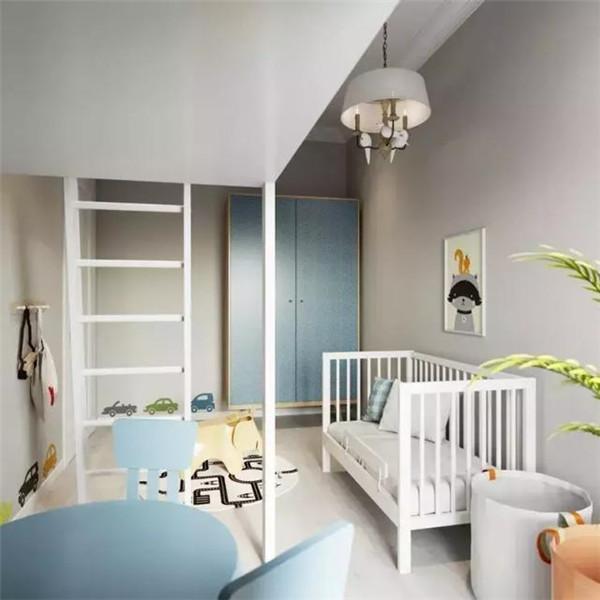 泰兴75平两室装修案例 空间感巨强 儿童房别出心裁