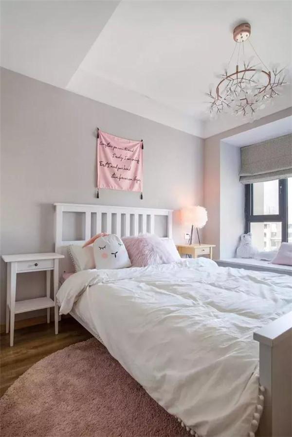 庆阳120平北欧三居装修案例 玻璃屋顶阳光房超温暖