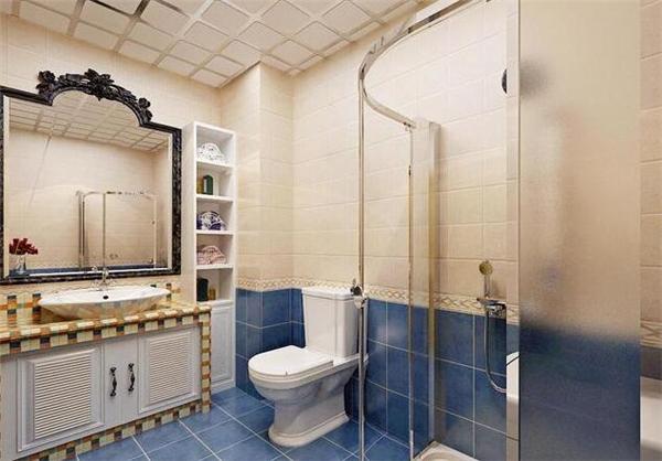 衡阳90平两室两厅地中海风格装修案例 预算16万