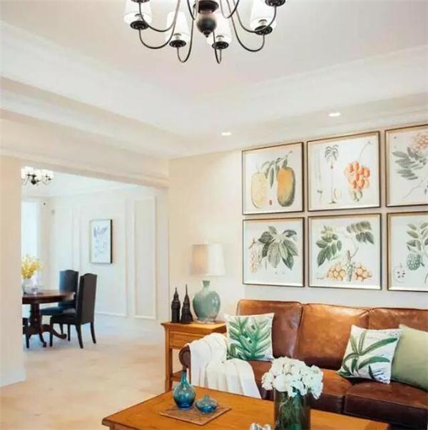 庆阳150平美式四居装修案例 恬淡中带点小清新