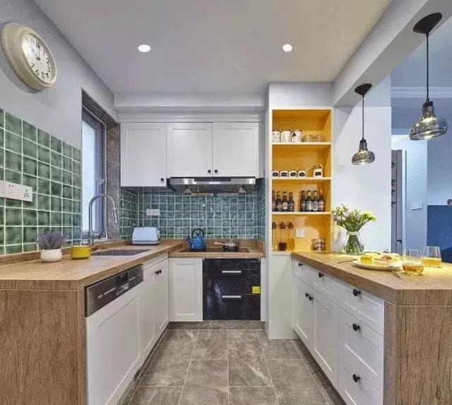 72㎡北欧风格厨房装修设计