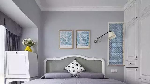 72㎡北欧风格卧室装修设计