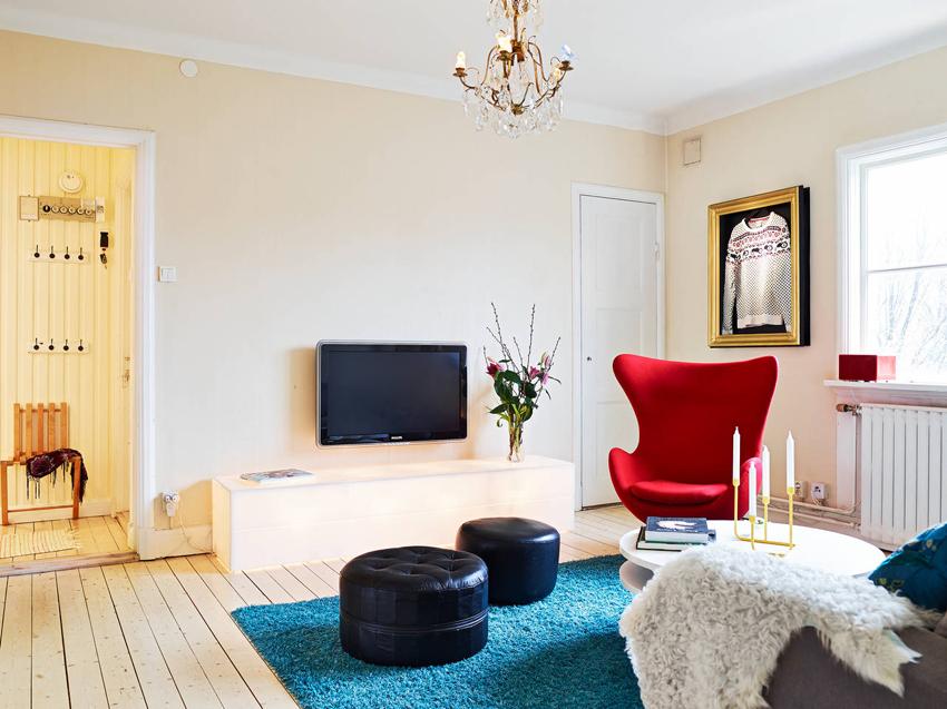 沾化装修室内色彩搭配效果图之客厅设计