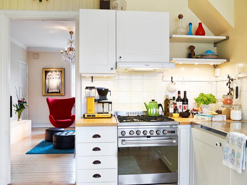 沾化装修室内色彩搭配效果图之厨房