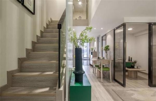 六盘水75平loft装修案例 动静分区 诠释禅意