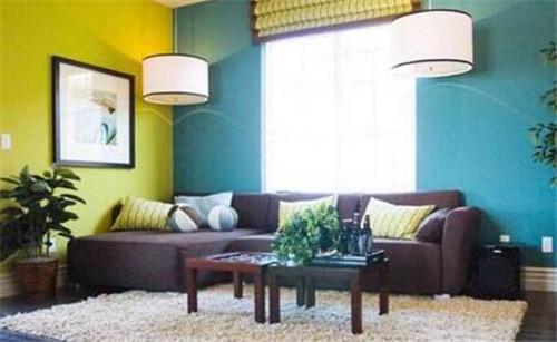 客厅乳胶漆的颜色选择