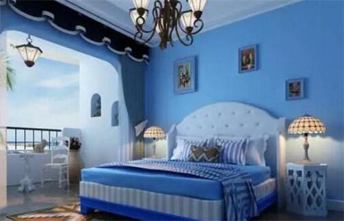 卧室乳胶漆的颜色选择