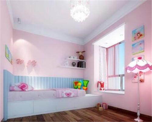 儿童房乳胶漆的颜色选择