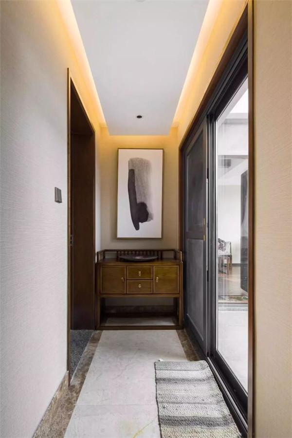 衡阳220平复式装修案例 新中式风格 充满古典气息
