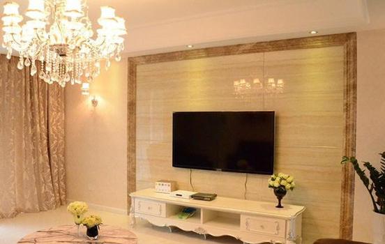 电视背景墙增色