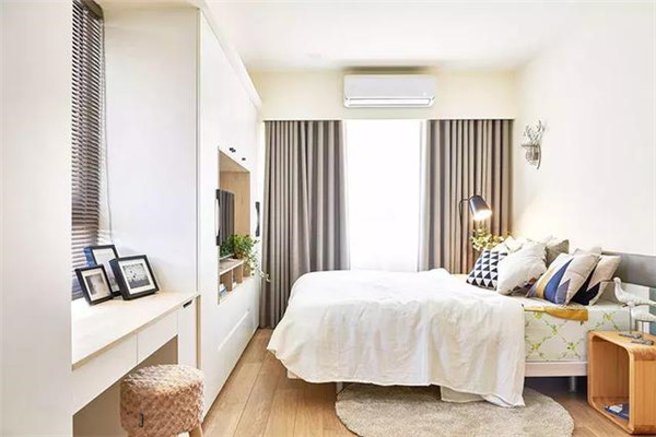 庆阳98平三室装修案例 简约原木自然舒适