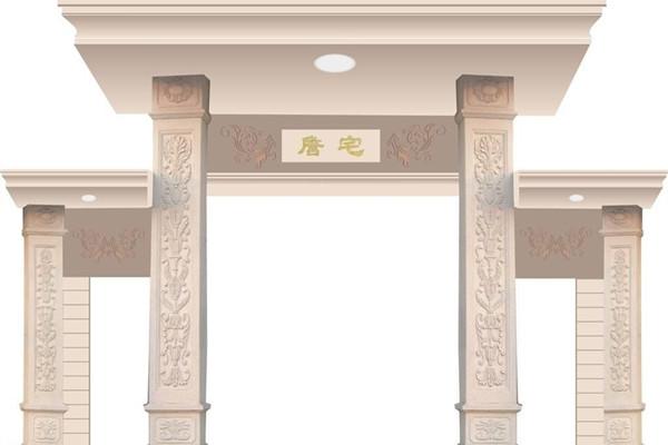 门柱、门扇有弯曲或破裂