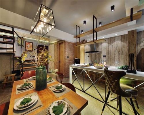 青岛99平小复式装修精选案例分享  家是一个人个性品味的体现