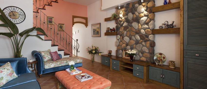 180平复式装修案例分享之客厅