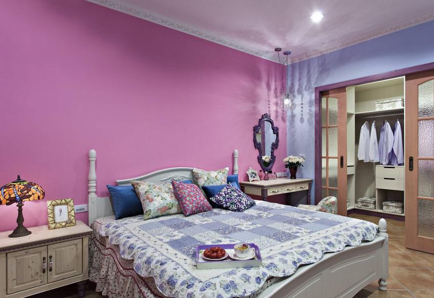 180平复式装修案例分享之卧室