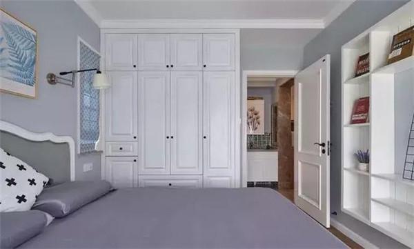 70㎡北欧风格装修 电视墙做柜体真不错图片