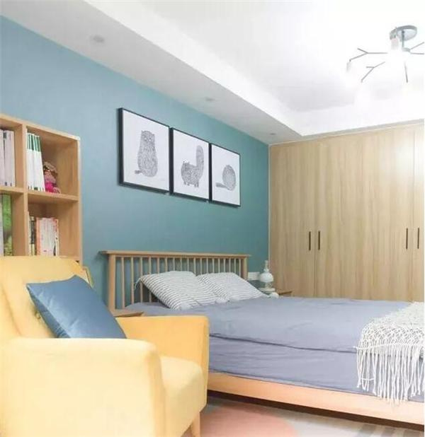 庆阳88平米两室装修案例 4.8万半包打造日式简约风