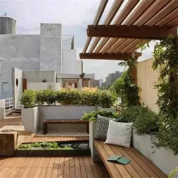 天台改造成花园
