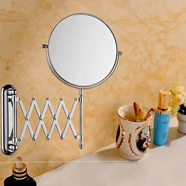 卫生间化妆镜安装