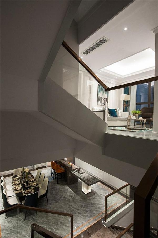 580平米现代轻奢风格别墅装修