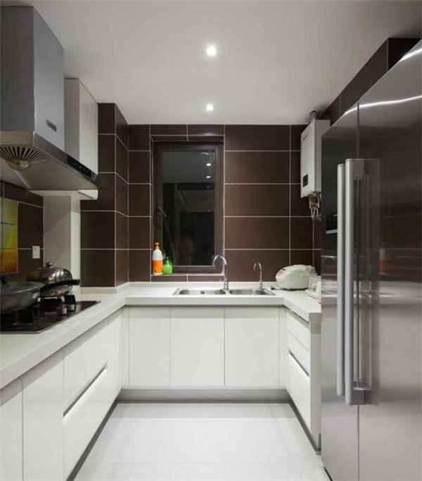厨房收纳设计效果图