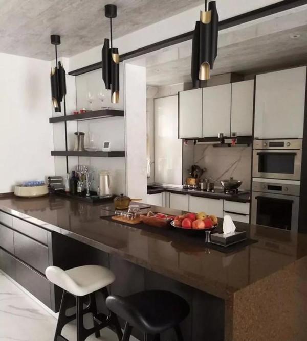 130㎡后现代风格厨房装修设计
