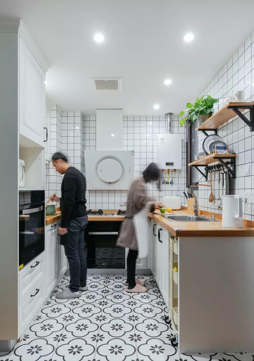 88㎡北欧风格厨房装修设计