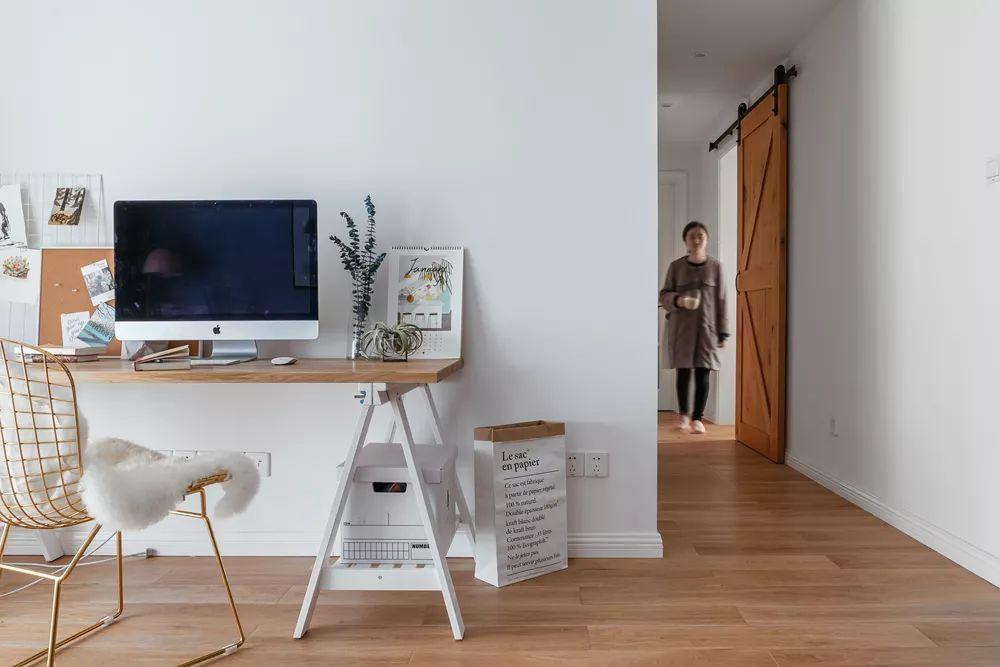 88㎡北欧风格电视墙装修设计