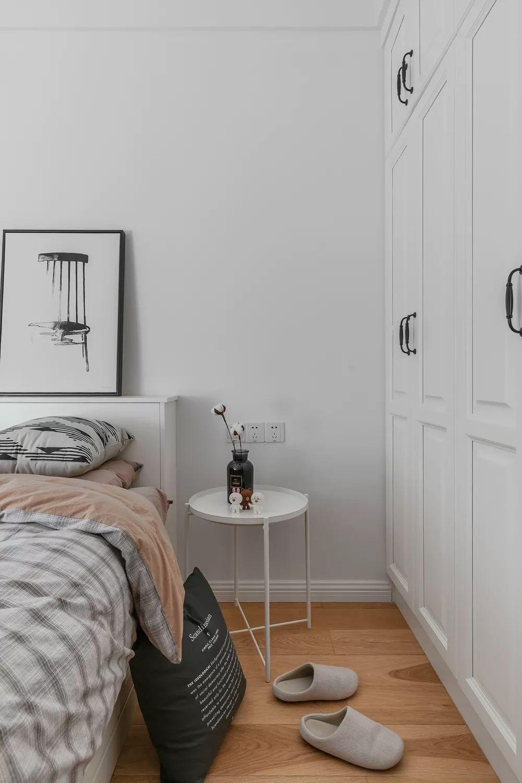 88㎡北欧风格卧室装修设计