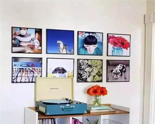 大足装饰分享2018流行的照片墙设计  让家更加温馨