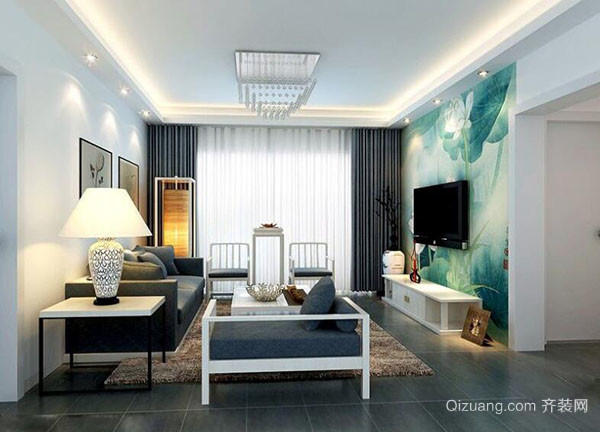 客厅装修简欧风格怎么装修