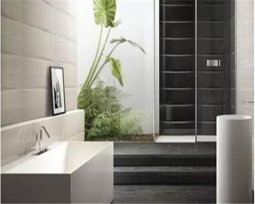大足装饰告诉您如何设计卫浴瓷砖拼贴  提高卫浴整体颜值