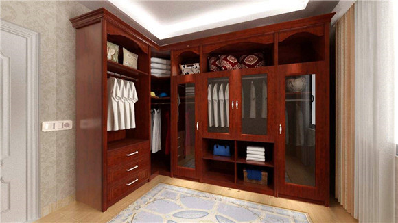 衣柜格功能分区