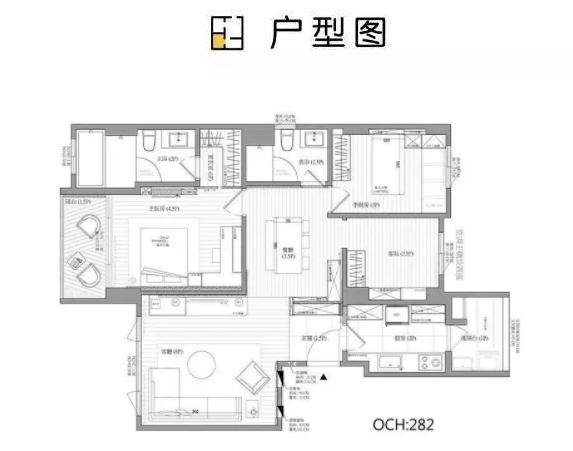 100平米三室两厅这样装修 既省钱又好看