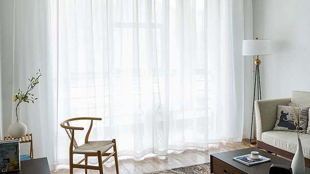 白色+窗帘