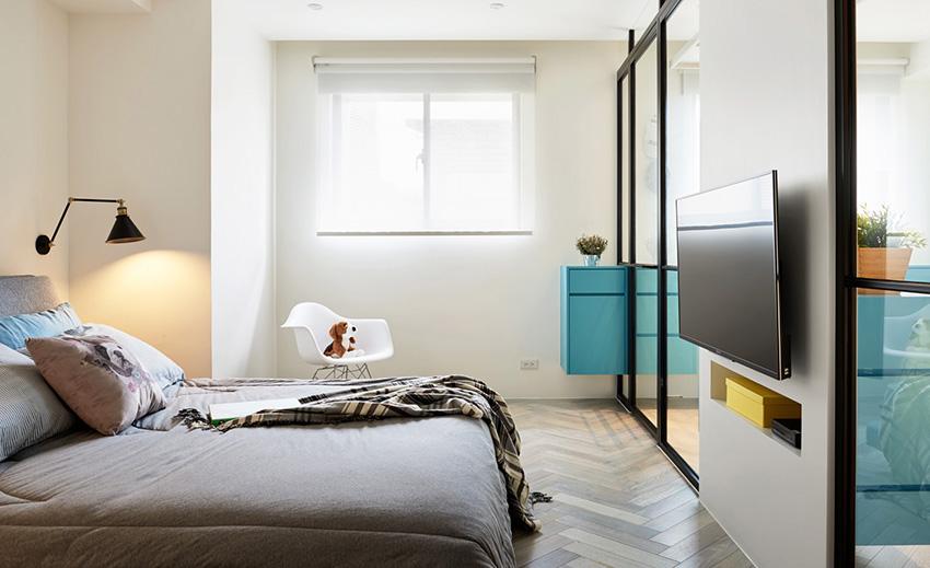 现代简约案例之卧室
