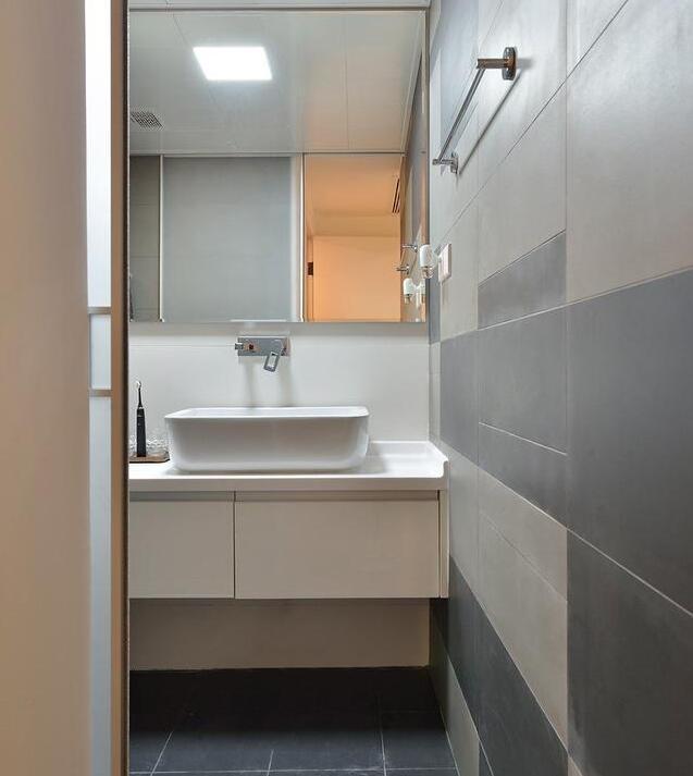 120㎡北欧风格卫浴装修设计